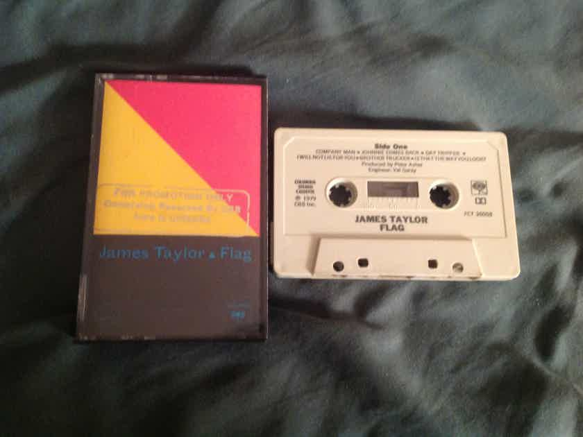 James Taylor Flag Columbia Records Pre Recorded Cassette