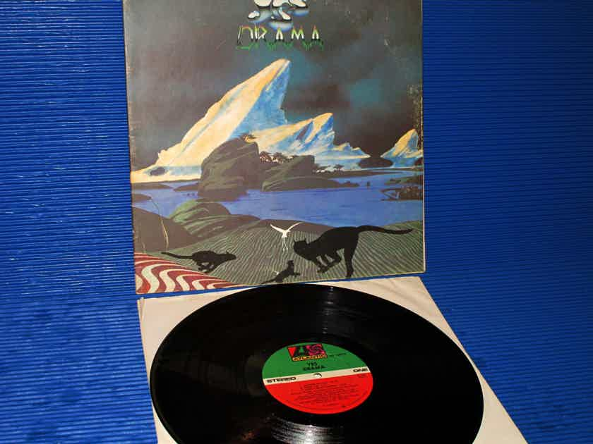 "YES   - ""Drama"" - Atlantic 1980 (no B/C) 1st Pressing with 'Strawberry' in Dead Wax"