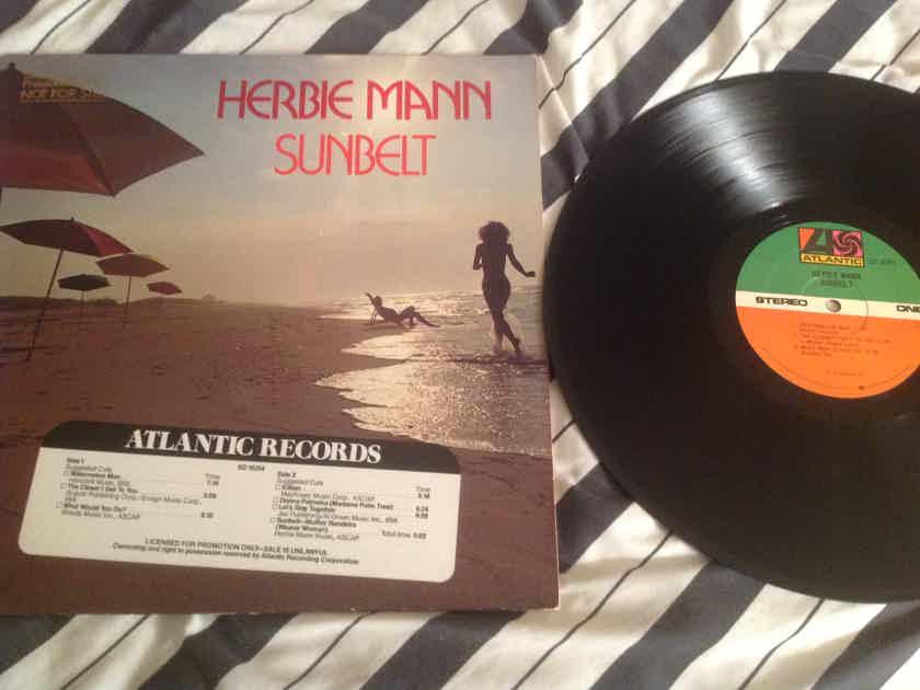 Herbie Mann Sunbelt Promo With DJ Timing Strip Atlantic Records