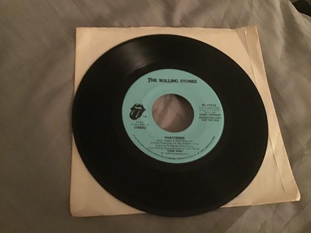Rolling Stones Promo Long/Short Version 45 NM