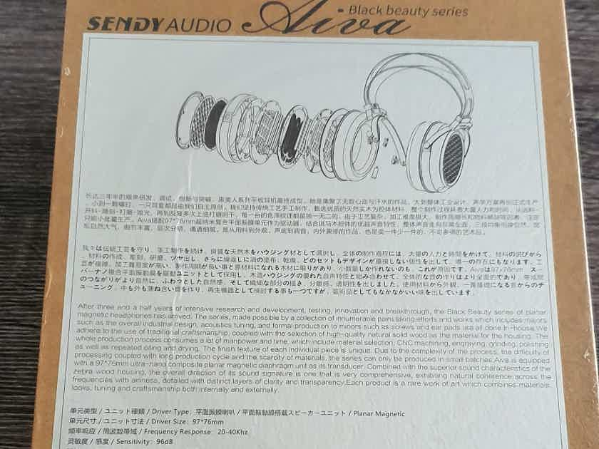 Sendy Aiva Black Beauty Series 4.4mm Balanced Planar Magnetic Headphones
