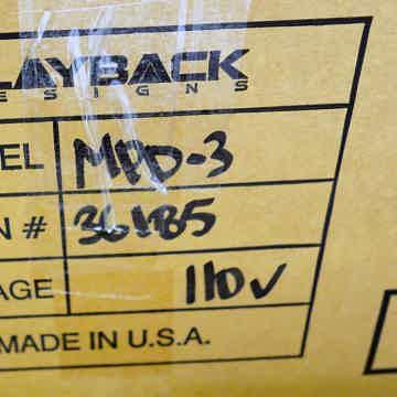 Playback Designs MPD-3
