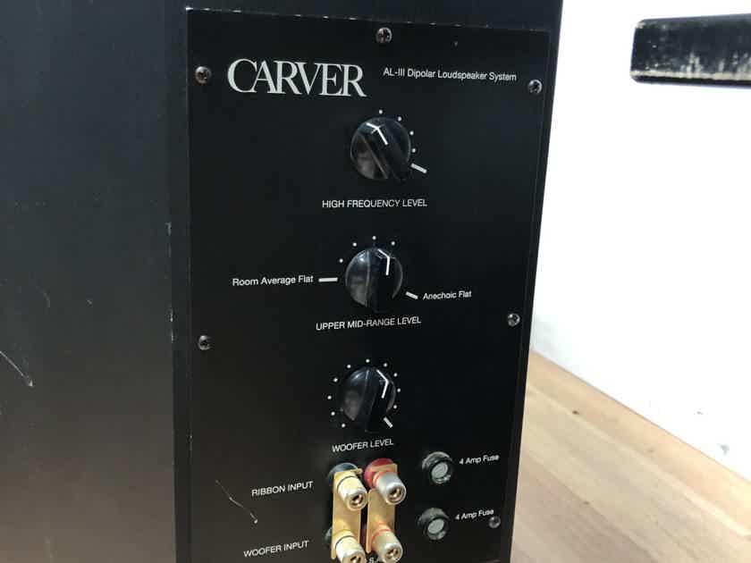 Carver AL-III Dipole Loudspeaker System
