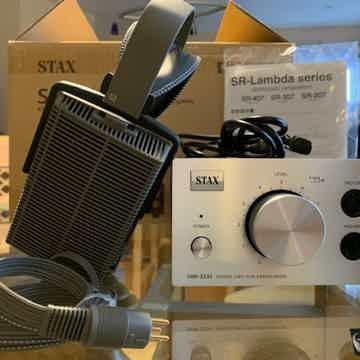 Stax SRS-3170 (SR-307 + SRM-323S) Headphones (Lightly used)