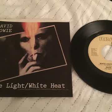 David Bowie  White Light/White Heat Promo 45 With Pictu...