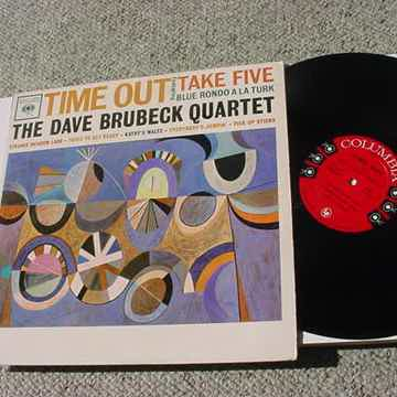The Dave Brubeck Quartet lp record - time out Columbia ...