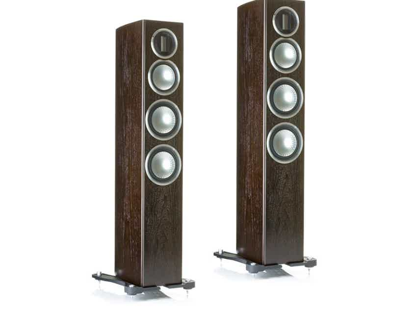 Monitor Audio GOLD 200 Floorstanding Speakers (4G - Discontinued): NEW-in-Box; 5 Yr. Warranty*; 50% Off