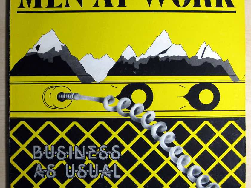 Men At Work - Business As Usual - K-Disc 1982 Columbia FC 37978