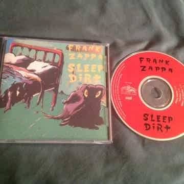 Frank Zappa  Sleep Dirt Out Of Print With Female Lead V...
