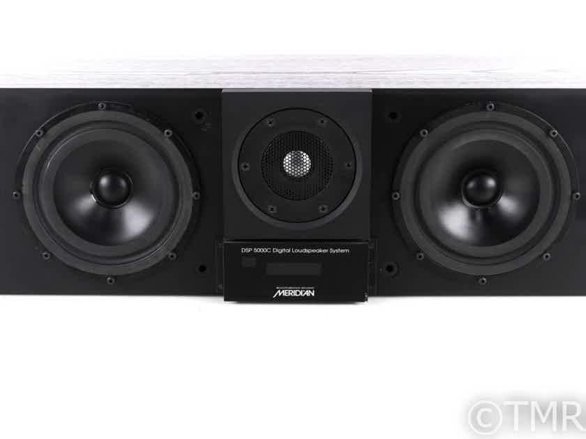 Meridian DSP5000C Digital Powered Center Channel Speaker; Black Finish (20645)