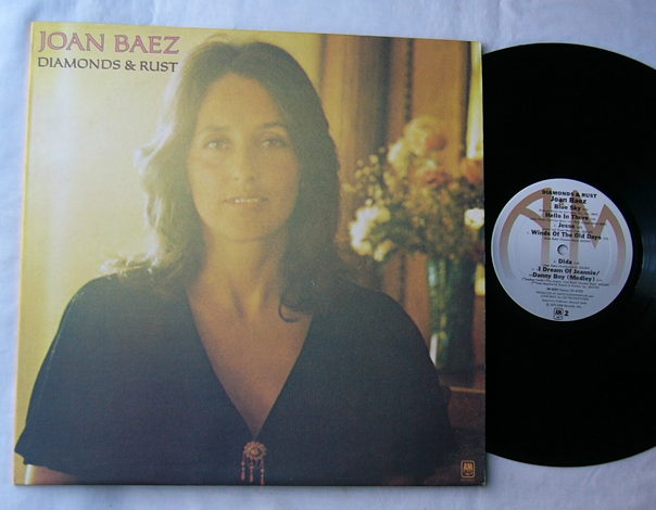 JOAN BAEZ LP--DIAMONDS & RUST--