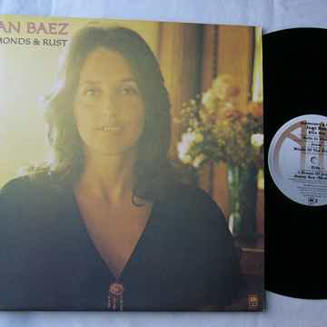JOAN BAEZ LP--DIAMONDS & RUST-- rare orig 1975 album on A&M Records