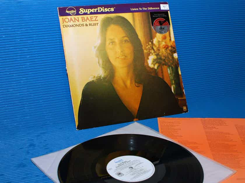"JOAN BAEZ  - ""Diamonds & Rust"" - Nautilus Super Disc -dbx 1980"