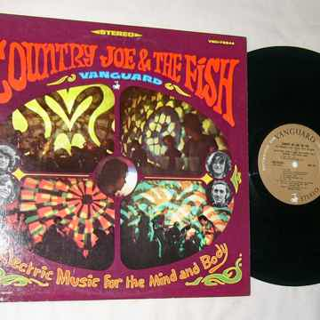 COUNTRY JOE & THE FISH - - ELECTRIC MUSIC - RARE 1967 L...