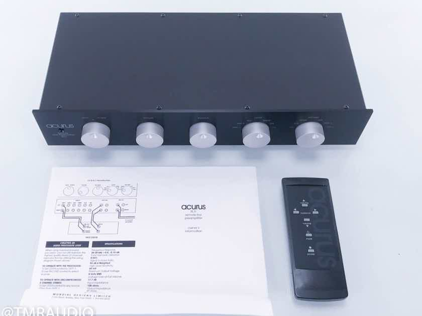 Acurus RL11 Stereo Preamplifier w/ Remote (11763)