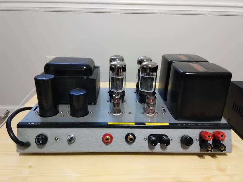Luxman KMQ7 Tube Stereo Power Amplifier. Excellent!