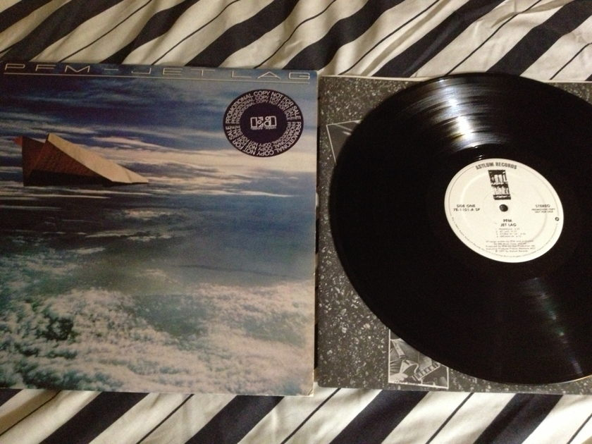 PFM - Jet Lag White Label Promo LP NM