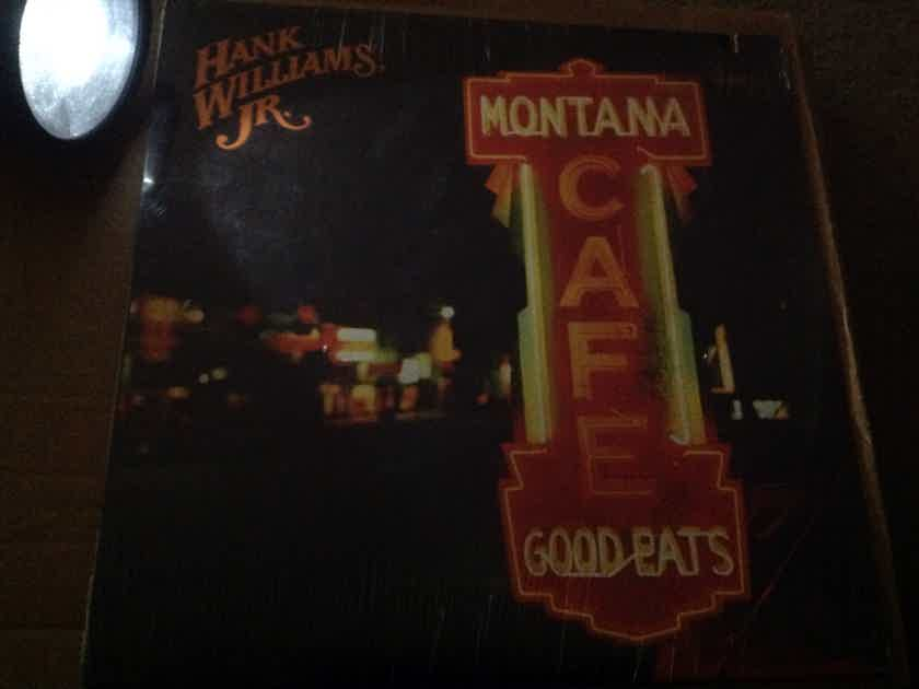 Hank Williams JR. - Montana Cafe Warner Curb Records Sealed Vinyl LP
