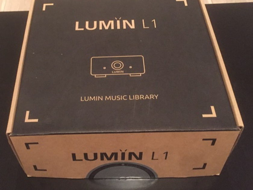 Lumin L1 (1TB) - The Music server for Lumin - Only 8 months old. Mint condition!