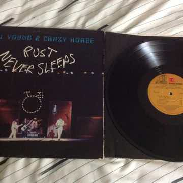 Neil Young & Crazy Horse - Rust Never Sleeps Reprise Re...