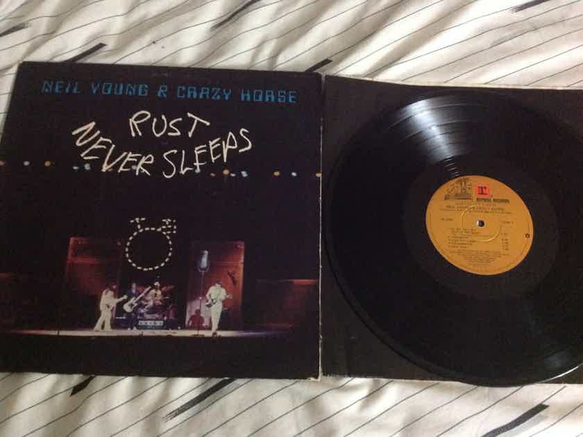 Neil Young & Crazy Horse - Rust Never Sleeps Reprise Records Vinyl  LP