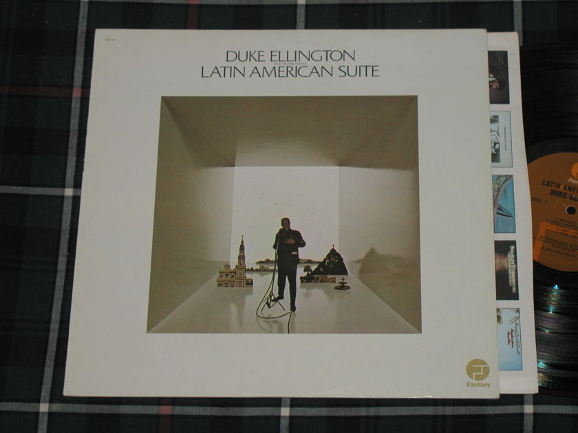 """Duke Ellington And His Orchestra - """"Latin American Suite""""   Fantasy Orig. Fantasy F-9640 Early 70's pressing w/tall text labels."""