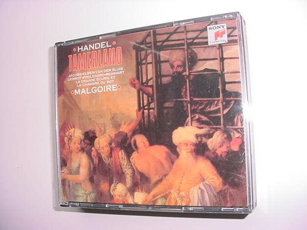 Sony classical 3 cd set Handel Tamerland