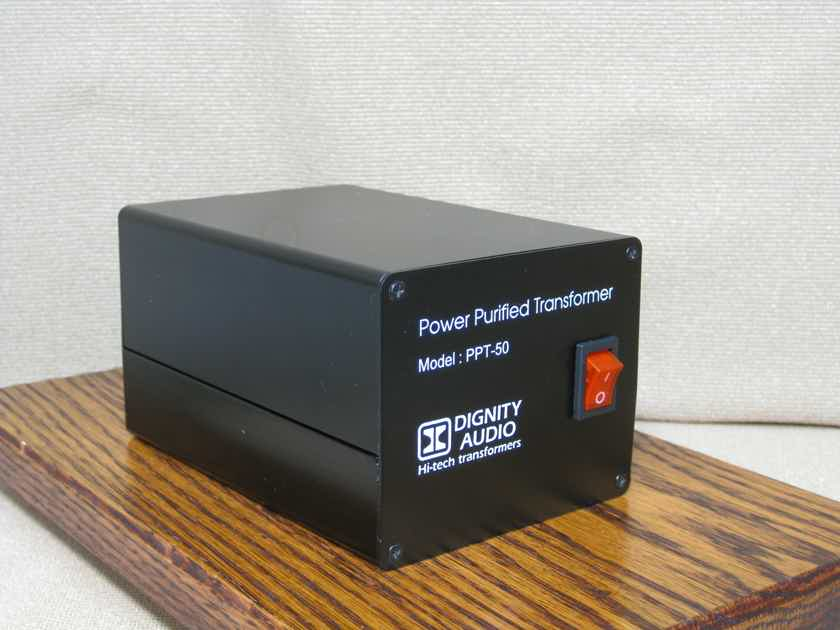 Dignity Audio PPT-50 AC power purity transformer
