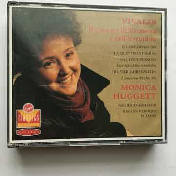 Vivaldi Monica Huggett  IL Cimento Dell Armonia Cd set 1989 Virgin