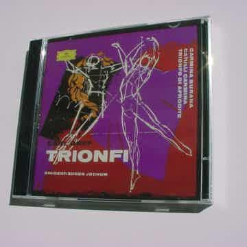 SEALED 2 CD set Carl Orff Trionfi Eugen Jochum Deutsche Grammophon MONO MHS 5270764