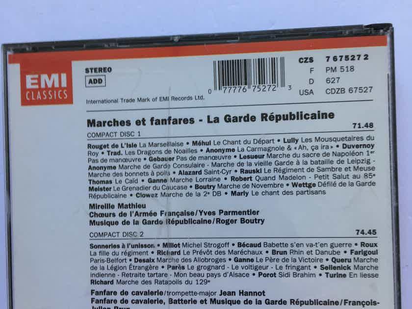 Marches et Fanfares  La Garde Republicaine Cd set Emi 1992 see add