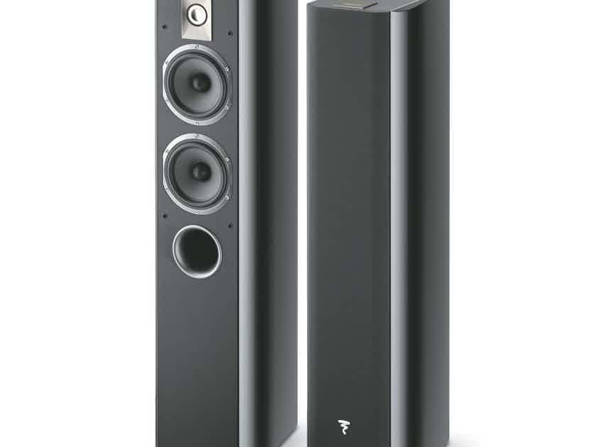 Focal Chorus 714 Floorstanding Speakers (Black): Refurbished; Full Warranty; 50% Off