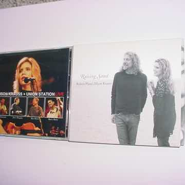 2 cd's Alison Krauss 1 with Robert Plant live and raising sand