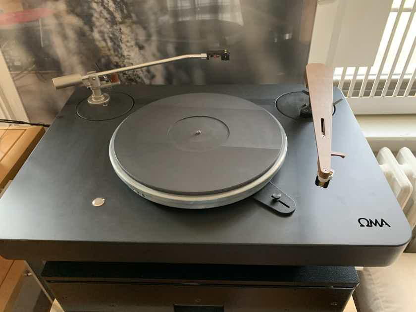 Oswalds Mill Audio Anatase Turntable, Schroeder & Schick Arms