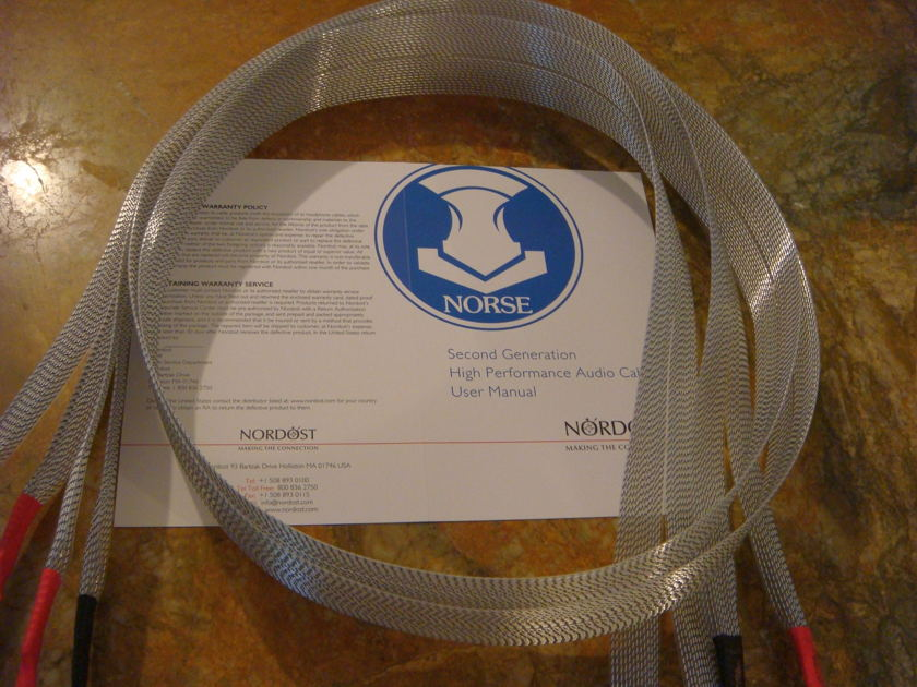 Nordost Tyr 2 (Norse 2) 2m speaker cables