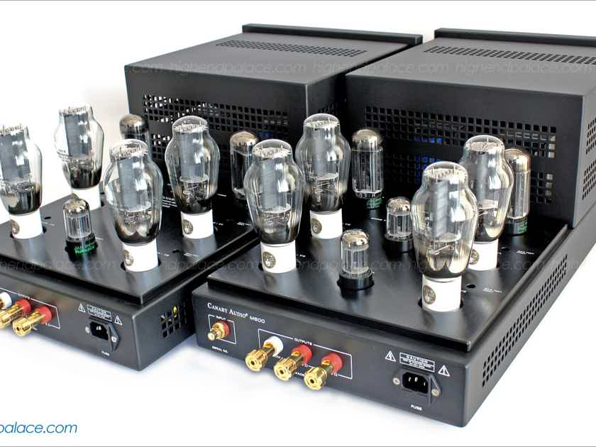 DECEMBER SPECIAL PROMOTION on REFERENCE M600 Monoblocks! CLASS A x four 300B