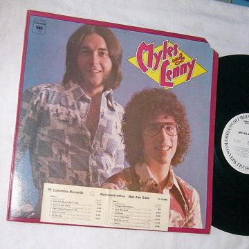 MYLES and LENNY -  SELF TITLED ALBUM - RARE 1975 WLP LP