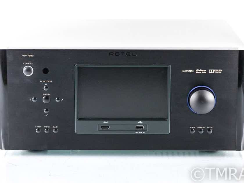 Rotel RSP-1582 7.2 Channel Home Theater Processor; RSP1582; MM Phono; Remote (22645)