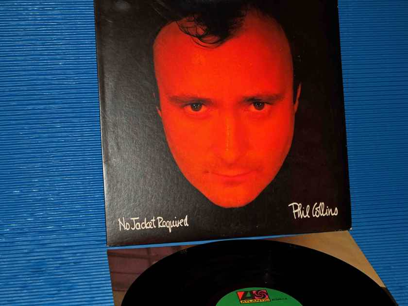 "PHIL COLLINS - ""No Jacket Required"" -  Atlantic 1985 R Ludwig 1st Pressing"