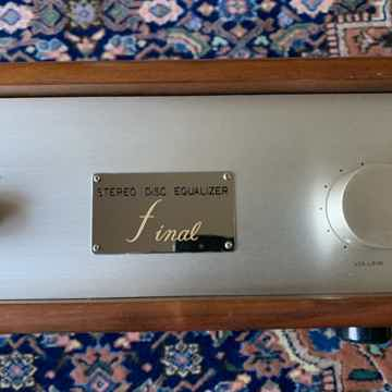 Final Lab disc equilizer