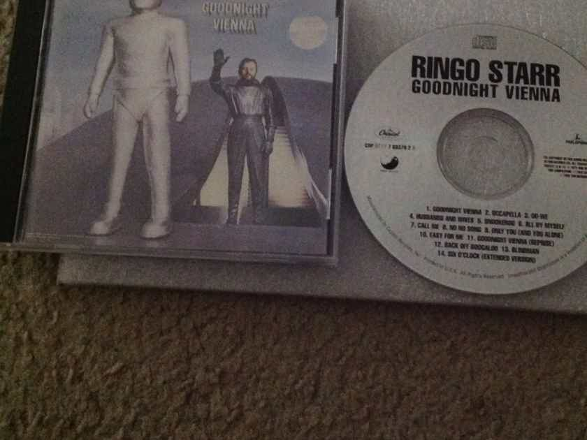 Ringo Starr - Goodnight Vienna Apple Records Compact Disc With  Bonus Tracks
