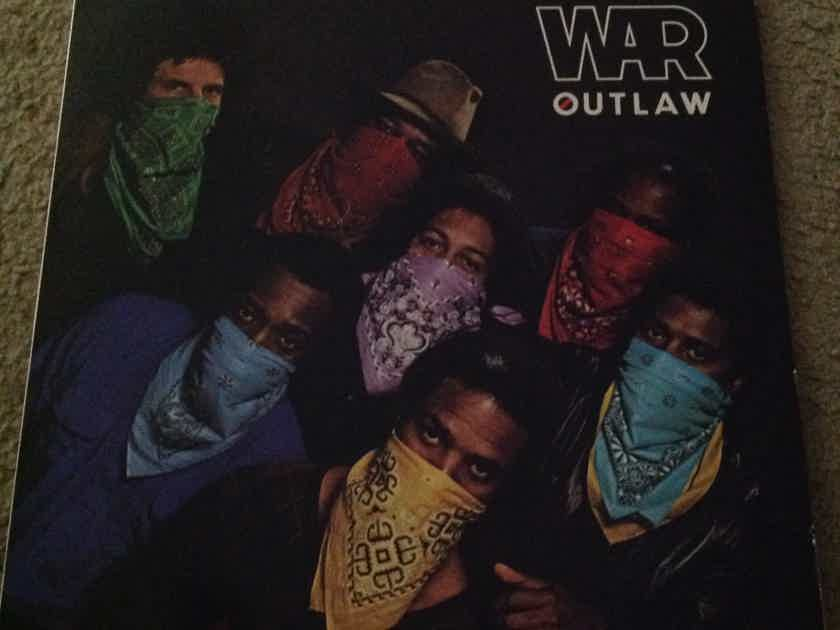 War - Outlaw  RCA Records Vinyl LP  NM