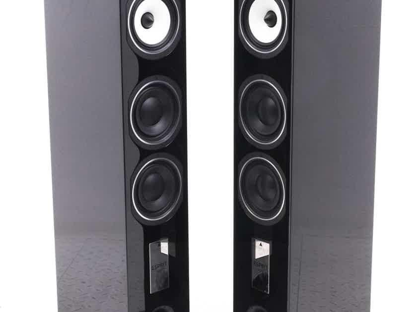 Triangle Esprit Gaia Ez Floorstanding Speakers; Gloss Black Pair (21525)