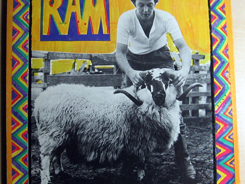 Paul And Linda McCartney - RAM  - Apple Records  SMAS-3375
