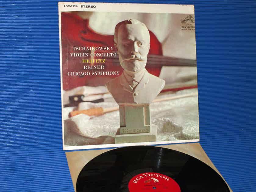 """TCHAIKOVSKY / Heifetz / Reiner  - """"Violin Concerto In D"""" - RCA 'White Dog' 1964"""