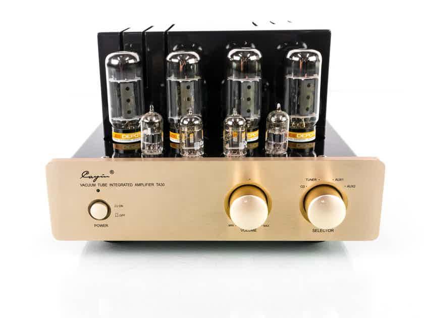 Cayin TA30 Stereo Integrated Tube Amplifier; TA-30 (19743)