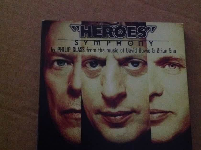 Philip Glass David Bowie Brian Eno - Heroes Symphony  Point Music Records Music Composed By Philip Glass CD