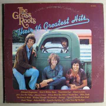 The Grass Roots - Their 16 Greatest Hits - 1971 Reissue...