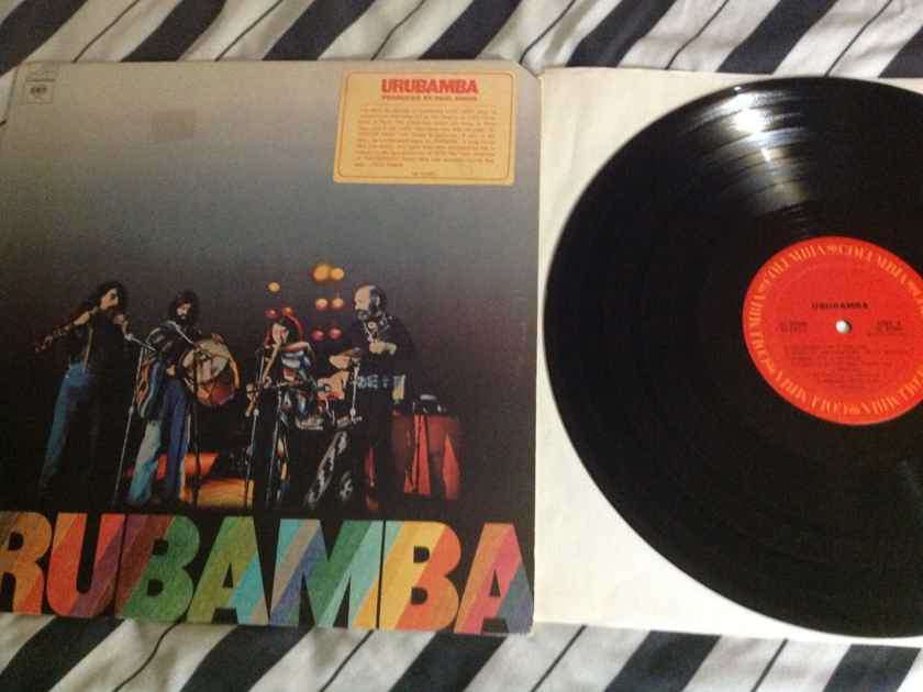 Urubamba - S/T Columbia Records Paul Simon Producer Vinyl  LP NM