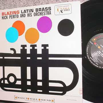 Ultra Audio United Artists Blazing Latin Brass Nick Perito and his orchestra lp record